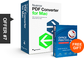 offer #7 PDF Converter for Mac free gift